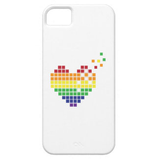 Pixel Heart iPhone 5 Covers