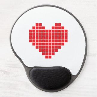 Pixel Heart Gel Mouse Pad