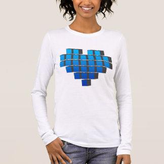 Pixel Heart - Love Video Games Pixels Life Long Sleeve T-Shirt
