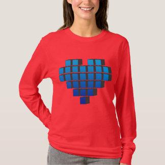 Pixel Heart - Love Video Games Pixels Life T-Shirt