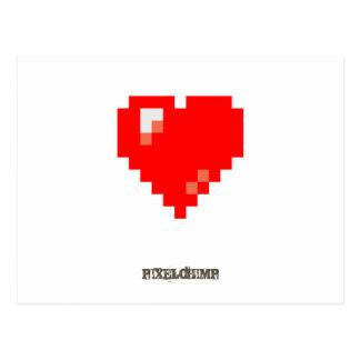 Pixel_Heart Postcard