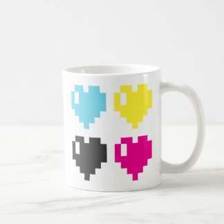 Pixel Hearts Mug