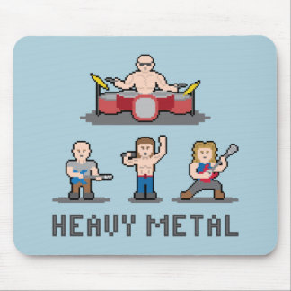Pixel Heavy Metal Mousepad