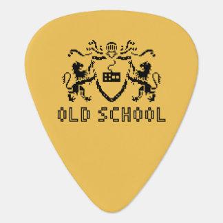 Pixel Heraldic Old School Guitar Pick