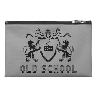 Pixel Heraldic Old School Travel Accessory Bag