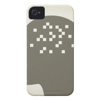 Pixel in a head iPhone 4 cover