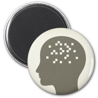 Pixel in a head magnet