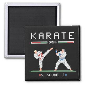 Pixel Karate Game Magnet