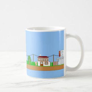 Pixel kawaii City Mugs
