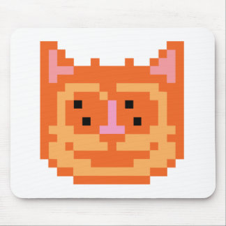 Pixel Kitty Cat Mouse Pad