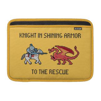 """Pixel Knight vs Dragon Macbook Air 11"""" Sleeve MacBook Sleeve"""