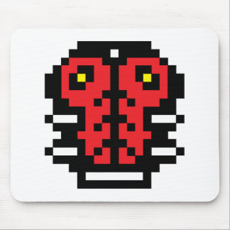 Pixel Ladybug Mouse Pad