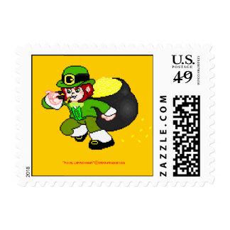 pixel leprechaun Postage 4