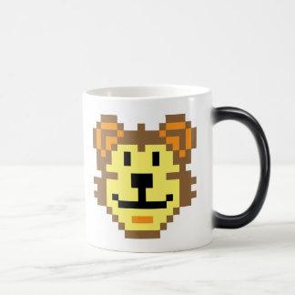 Pixel Lion 11 Oz Magic Heat Color-Changing Coffee Mug