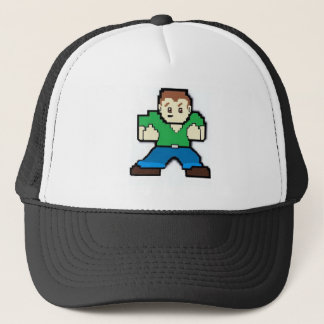 Pixel Man Trucker Hat