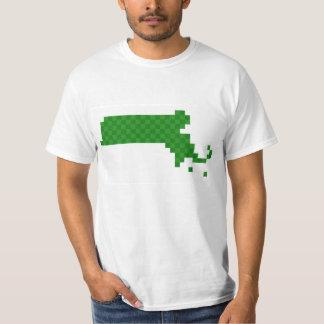 Pixel Massachusetts T-Shirt