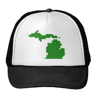 Pixel Michigan Gorros Bordados