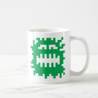 Pixel Monster Critter Classic White Coffee Mug