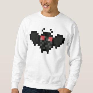 pixel mothman sweatshirt