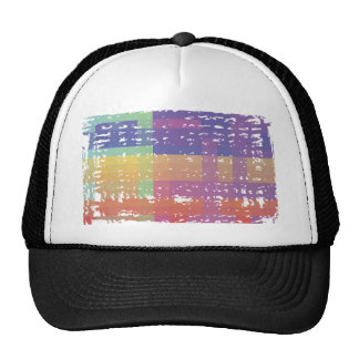 Pixel Nation Distressed Trucker Hat