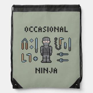 Pixel Ninja ocasional Mochilas