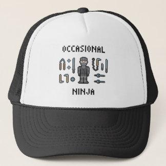 Pixel Occasional Ninja Trucker Hat