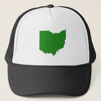 Pixel Ohio Trucker Hat