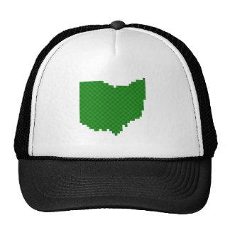 Pixel Ohio Trucker Hat