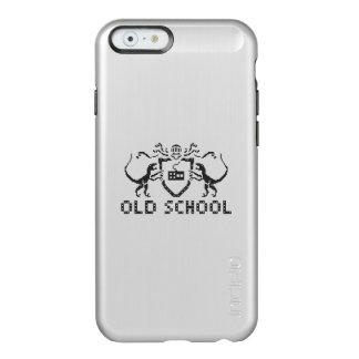 Pixel Old School Dinosaur iPhone 6 Silver Case Incipio Feather® Shine iPhone 6 Case