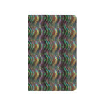 Pixel olográfico brillante oscuro del modelo de on cuaderno grapado
