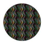 Pixel olográfico brillante oscuro del modelo de on fichas de póquer