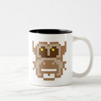 Pixel Owl Two-Tone Coffee Mug