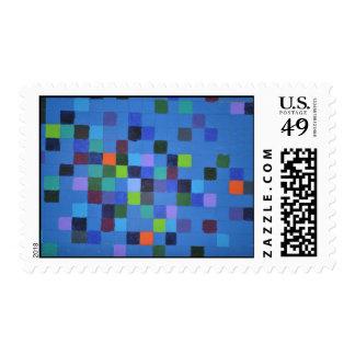 Pixel Painting Stamp