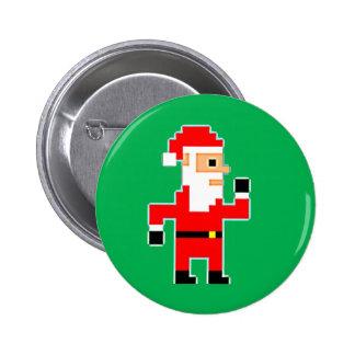 Pixel Papá Noel Pins