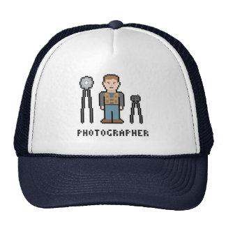 Pixel Photographer Trucker Hat
