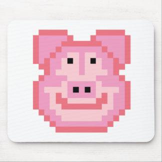 Pixel Piggy Pig Mouse Pad