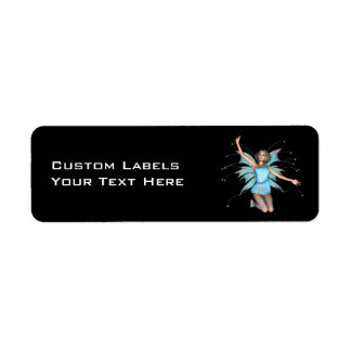 Pixel Pixie - 3D Halftone Color, Custom LabelsY... Label
