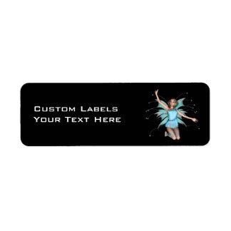 Pixel Pixie - 3D Halftone Color, Custom LabelsY... Label