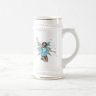 Pixel Pixie - 3D Halftone Color Coffee Mugs