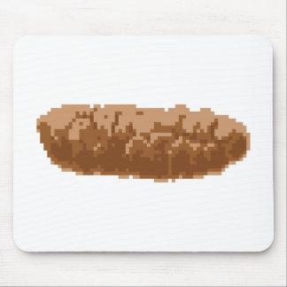 Pixel Poop Mouse Pads
