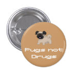 Pixel Pug Button