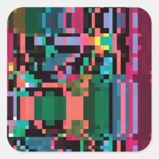 Pixel Punch Sticker