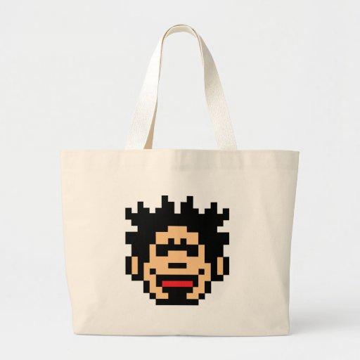 Pixel Punk Canvas Bags