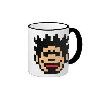 Pixel Punk Ringer Coffee Mug