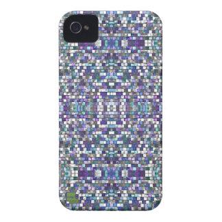 Pixel púrpura Apple, casos androides del smartphon Case-Mate iPhone 4 Cobertura