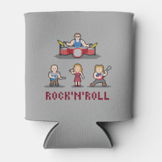 Pixel Rock'n'Roll Band Can Cooler