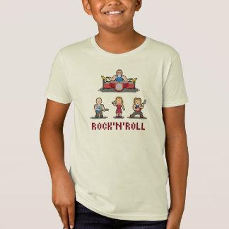Pixel Rock'n'Roll Band Kids' T-Shirt