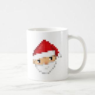 Pixel Santa Taza De Café