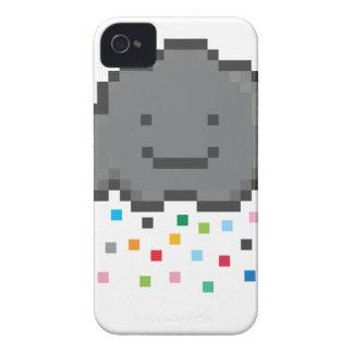 pixel-shower-cloud-multicolour.png iPhone 4 protectores
