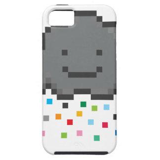 pixel-shower-cloud-multicolour.png iPhone 5 carcasa